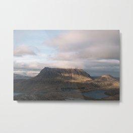 Travel photography print: Assynt, Scotland Metal Print