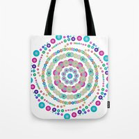 chemistry Tote Bags featuring Chemistry fun by Mi Nu Ra