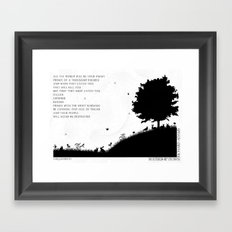 Watership Down  Framed Art Print