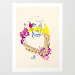 Some Like it Marilyn Art Print