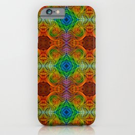 Tryptile 34d (Repeating 1) iPhone Case