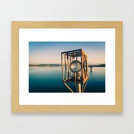 Landing Light Framed Art Print