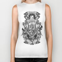 rome Biker Tanks featuring Rome by DIVIDUS