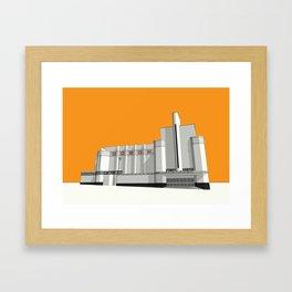 ODEON Woolwich Framed Art Print
