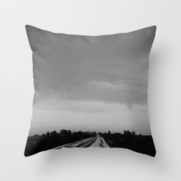 Midwest Storm III Throw Pillow