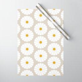 Minimal Botanical Pattern - Daisies Wrapping Paper