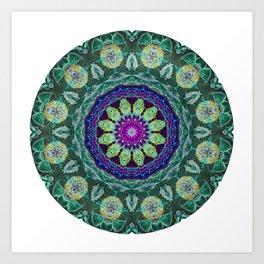 Fruit Punch Mandala Art Print