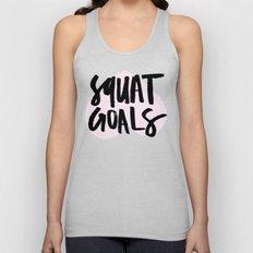 Squat Goals Unisex Tank Top