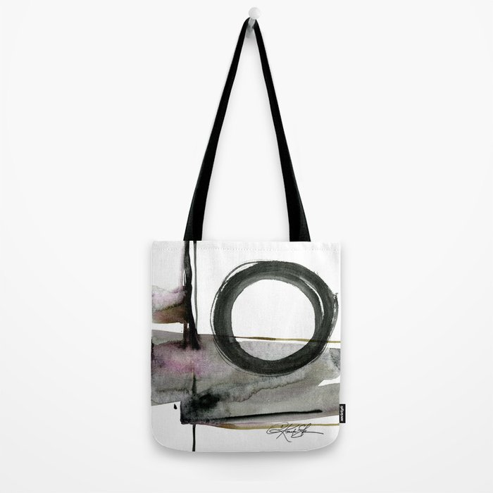 Enso Abstraction No. 112 by Kathy morton Stanion Tote Bag