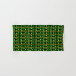 Green Circuit Board Hand & Bath Towel