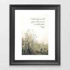 Ecstatic Motion Framed Art Print