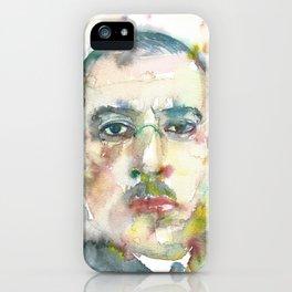 IGOR STRAVINSKY - watercolor portrait.1 iPhone Case