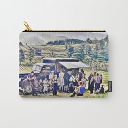 Bookmobile, Blount County, Tennessee 1943 Carry-All Pouch