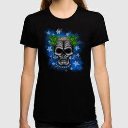 Punkin Instigator Errorface Skull T-shirt