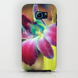 Dendrobium Orchid iPhone Case