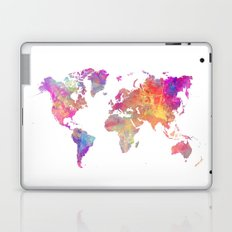 Map of the world Laptop & iPad Skin
