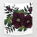 Winter Hellebore Blossoms by ngrained