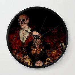 MEMENTO MORI VI Wall Clock