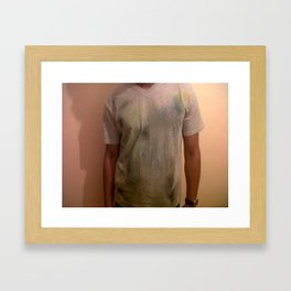 Simply Spray Paint. Framed Art Print