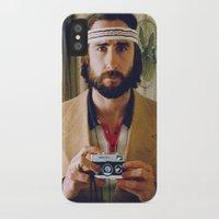 tenenbaum iPhone & iPod Cases featuring Richie Tenenbaum by VAGABOND