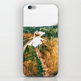 Free Spirit || #painting #nature iPhone Skin