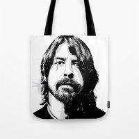 dave matthews Tote Bags featuring DAVE... by mabuna