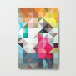 color story - pixelated warfare Metal Print