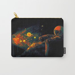 Cosmic Channel Carry-All Pouch