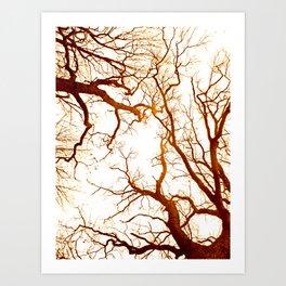 deep touching  Art Print