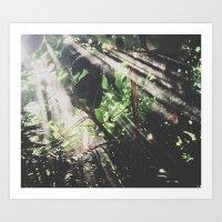jungle Art Prints featuring Jungle by Luke Gram
