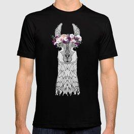 FLOWER GIRL ALPACA T-shirt