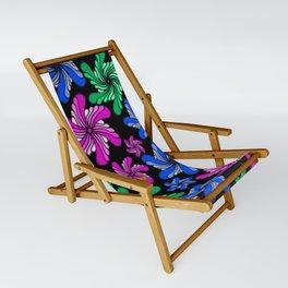 PinWheels on Black Sling Chair