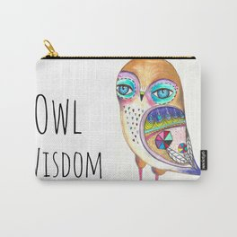 Owl Wisdom Carry-All Pouch