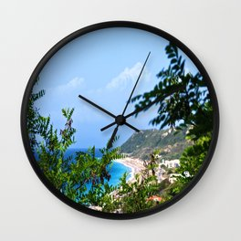 The Sea and Mountains Wall Clock