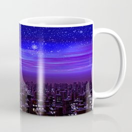 Spaceport Sunset Coffee Mug