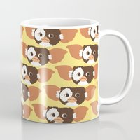 gizmo Mugs featuring gizmo by elvia montemayor