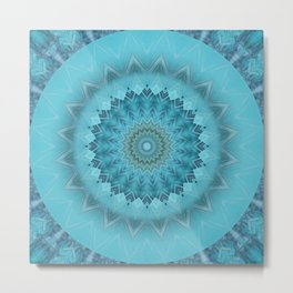 Mandala moments of happiness Metal Print