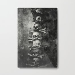 Once Were Warriors II. Metal Print