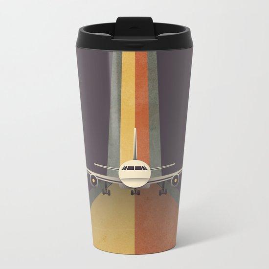 Take Off Metal Travel Mug