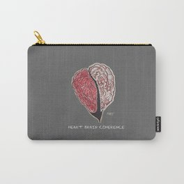 Brain Heart Coherence - Supporting Matthew Tischler Carry-All Pouch