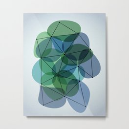 Origami 36 Metal Print