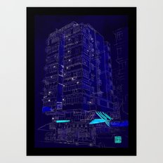 I Love Hong Kong Art Print