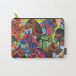 Happy Hobby-Horses Carry-All Pouch