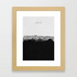 City Skylines: Jaipur Framed Art Print