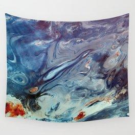 Warm liquid Wall Tapestry