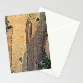 Rock Climbing At Smith Rock, No. 2 Stationery Cards