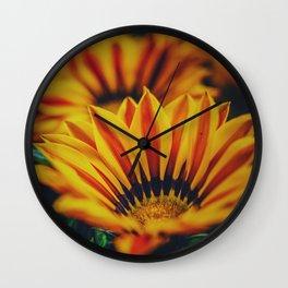 Flowers2 Wall Clock