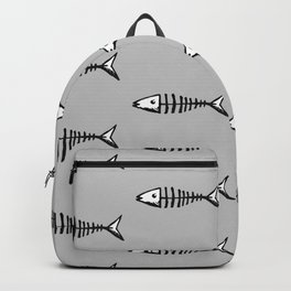 Fish out of Water (grey) Backpack