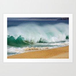PORTUGAL ... wave II Art Print