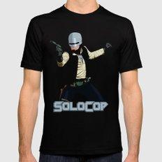 SoloCop Black MEDIUM Mens Fitted Tee